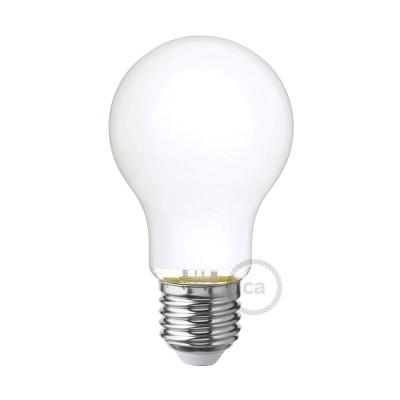 LED žárovka s mléčným sklem - Kapka A60 - 6W E27 Stmívatelná 2700K