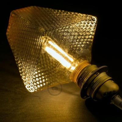 Modulární LED žárovka G160 a dýmová baňka 5W E27 stmívatelná 2700K