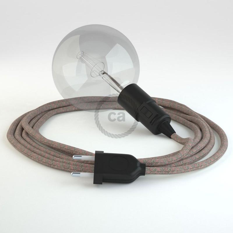 Navrhněte si vlastní RD61 Kosočtvercové starorůžové svítidlo Snake a přineste si světlo kamkoli chcete.