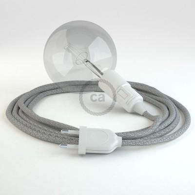 Navrhněte si vlastní RL02 Stříbrné třpytivé svítidlo Snake a přineste si světlo kamkoli chcete.