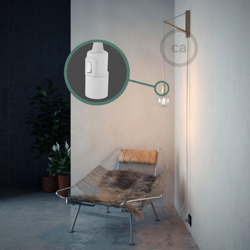 Navrhněte si vlastní RM01 Bílé hedvábní svítidlo Snake a přineste si světlo kamkoli chcete.