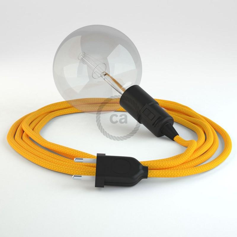 Navrhněte si vlastní RM10 Žluté hedvábní svítidlo Snake a přineste si světlo kamkoli chcete.