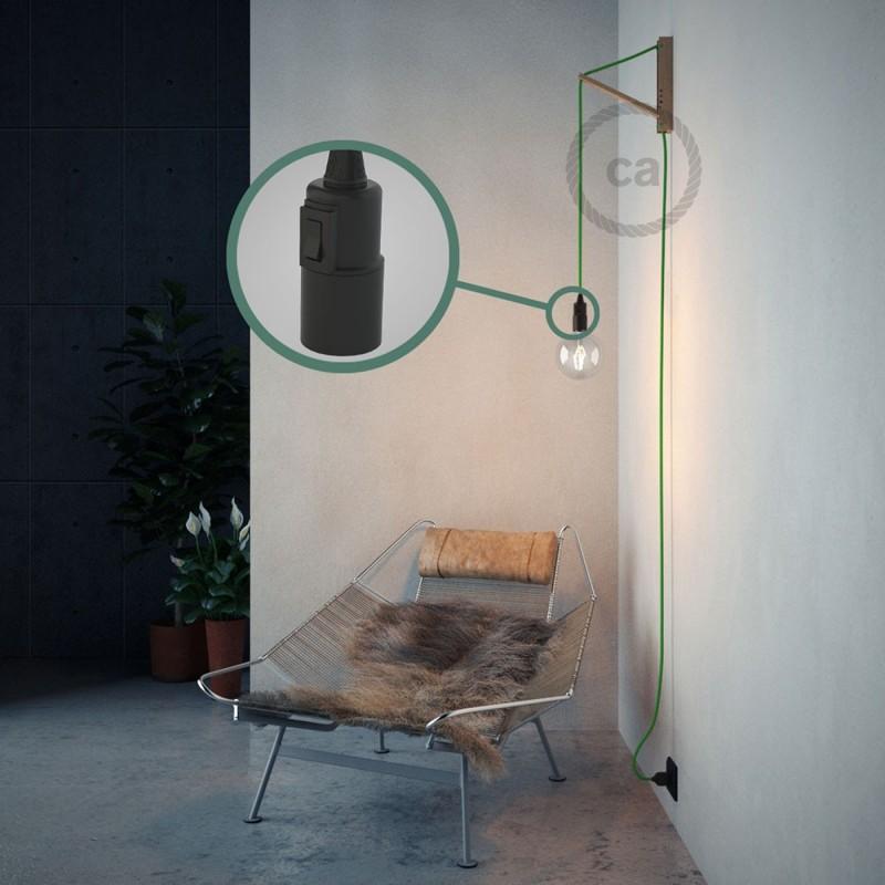 Navrhněte si vlastní RM18 Zelené limetkové hedvábní svítidlo Snake a přineste si světlo kamkoli chcete.