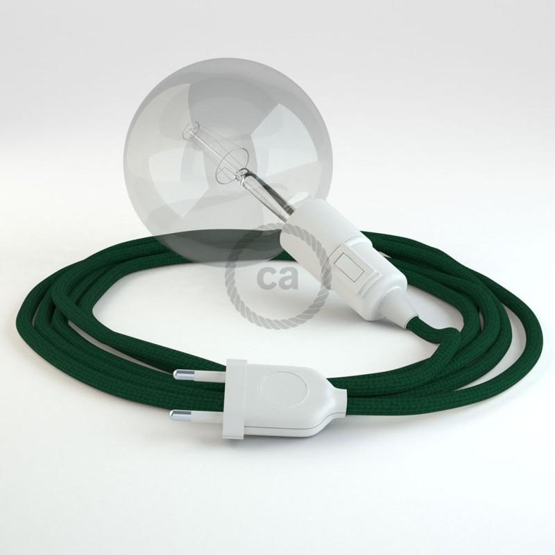 Navrhněte si vlastní RM21 Tmavě Zelené hedvábní svítidlo Snake a přineste si světlo kamkoli chcete.