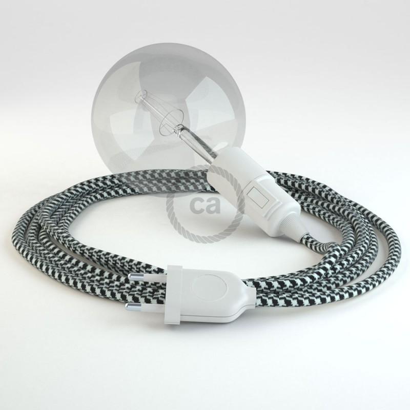 Navrhněte si vlastní RP04 Bílo-Černé svítidlo Snake a přineste si světlo kamkoli chcete.