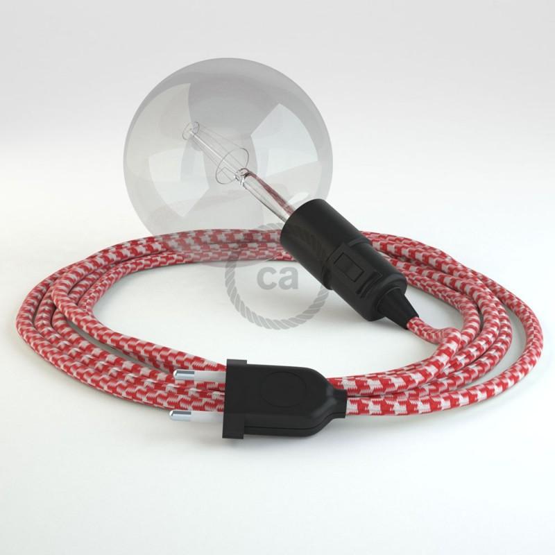 Navrhněte si vlastní RP09 Bílo-Červené svítidlo Snake a přineste si světlo kamkoli chcete.