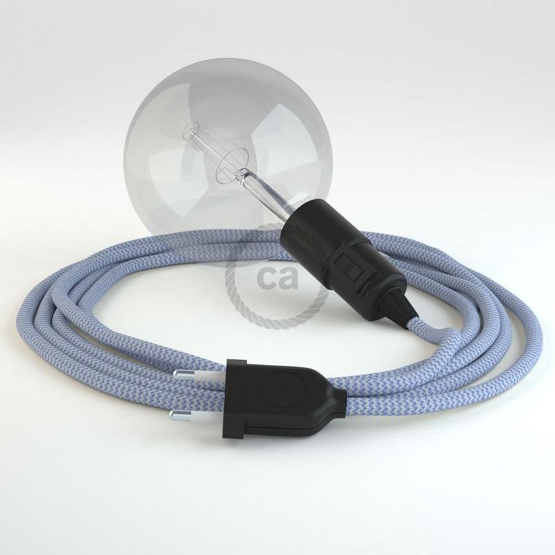 Navrhněte si vlastní RZ07 Cik-Cak Lila svítidlo Snake a přineste si světlo kamkoli chcete.