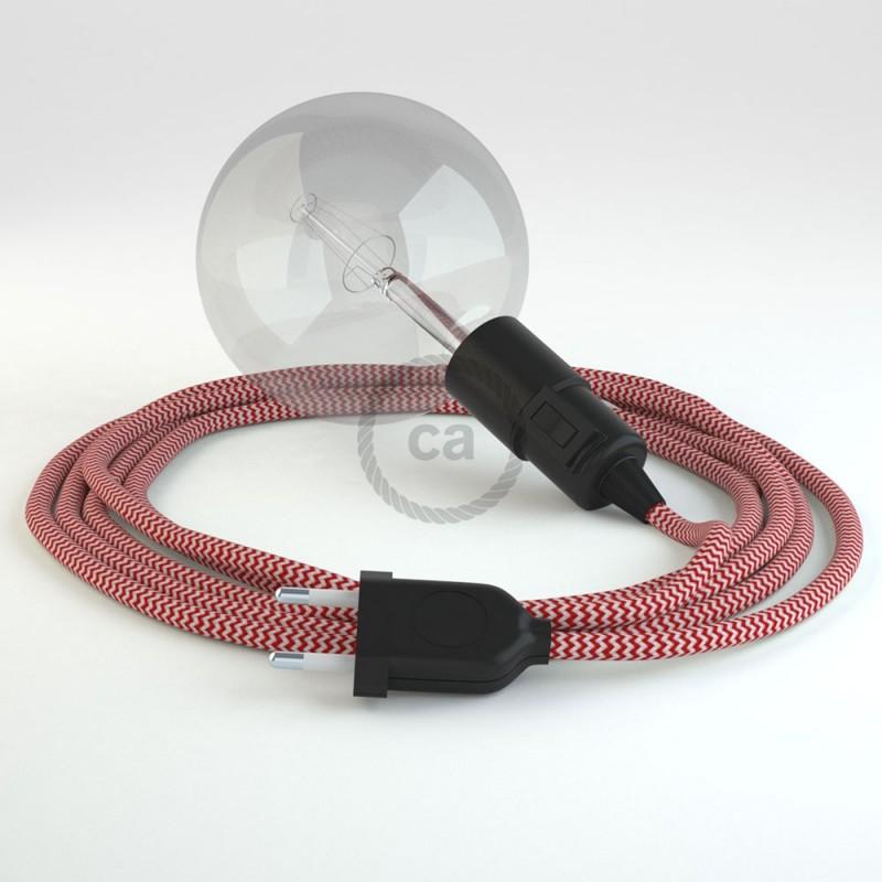 Navrhněte si vlastní RZ09 Cik-Cak Červené svítidlo Snake a přineste si světlo kamkoli chcete.