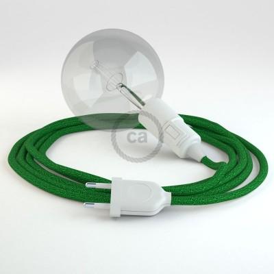 Navrhněte si vlastní RL06 Zelené třpytivé svítidlo Snake a přineste si světlo kamkoli chcete.