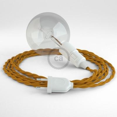 Navrhněte si vlastní TM25 Hořčicové hedvábní svítidlo Snake a přineste si světlo kamkoli chcete.