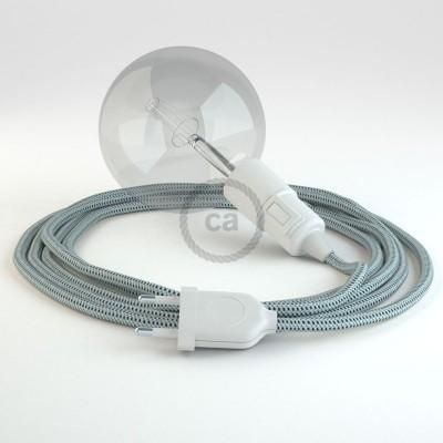 Navrhněte si vlastní RT14 svítidlo barvy Stracciatella 3D Snake a přineste si světlo kamkoli chcete.