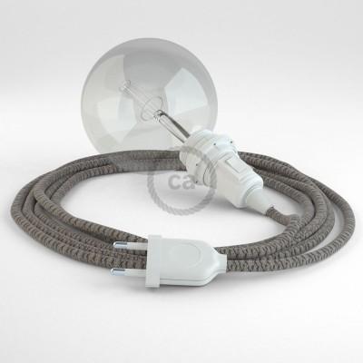 Navrhněte si vlastní RD64 Kosočtvercové antracitové svítidlo Snake pro stínidlo a přineste si světlo kamkoli chcete.