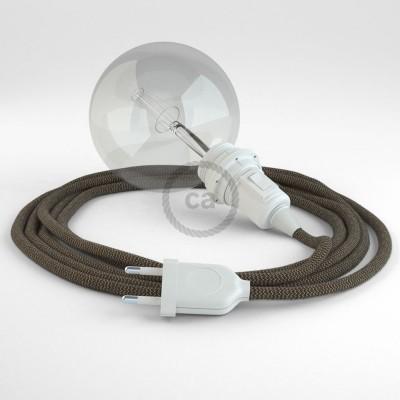 Navrhněte si vlastní RD73 Cik-Cak Kůrové svítidlo Snake pro stínidlo a přineste si světlo kamkoli chcete.