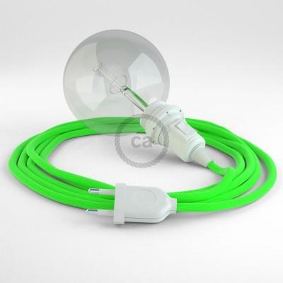 Navrhněte si vlastní RF06 Neonové zelené svítidlo Snake pro stínidlo a přineste si světlo kamkoli chcete.