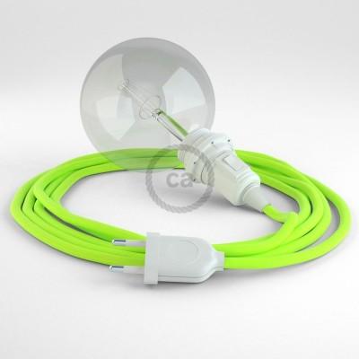 Navrhněte si vlastní RF10 Neonové žluté svítidlo Snake pro stínidlo a přineste si světlo kamkoli chcete.