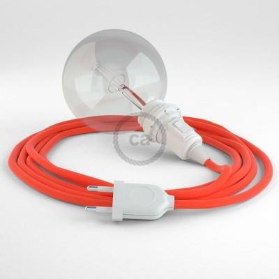 Navrhněte si vlastní RF15 Neonové oranžové svítidlo Snake pro stínidlo a přineste si světlo kamkoli chcete.