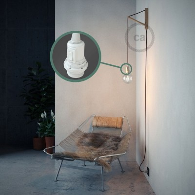 Navrhněte si vlastní RM19 Bordové hedvábní svítidlo Snake pro stínidlo a přineste si světlo kamkoli chcete.