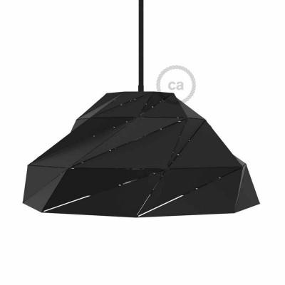 Černé matné stínidlo Nuvola s E27 objímkou