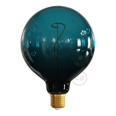 LED žárovka G125 barevná kombinace soumrak (Dusk), kolekce Pastel, popínavé vlákno 4W E27 Stmívatelná 2200K