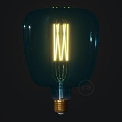 LED žárovka Bona barvy oceánu (Ocean Blue), kolekce Pastel, rovné vlákno 4W E27 Stmívatelná 2200K