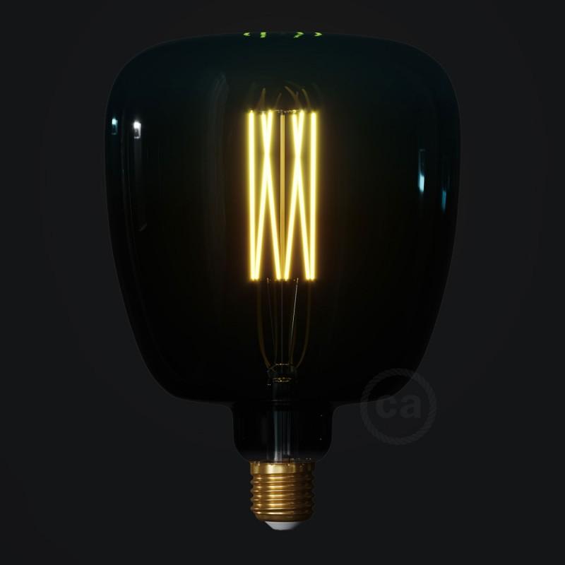 LED žárovka Bona barevná kombinace soumrak (Dusk), kolekce Pastel, rovné vlákno 4W E27 Stmívatelná 2200K