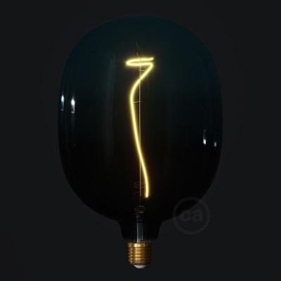 LED žárovka Egg barevná kombinace soumrak (Dusk), kolekce Pastel, popínavé vlákno 4W E27 Stmívatelná 2200K