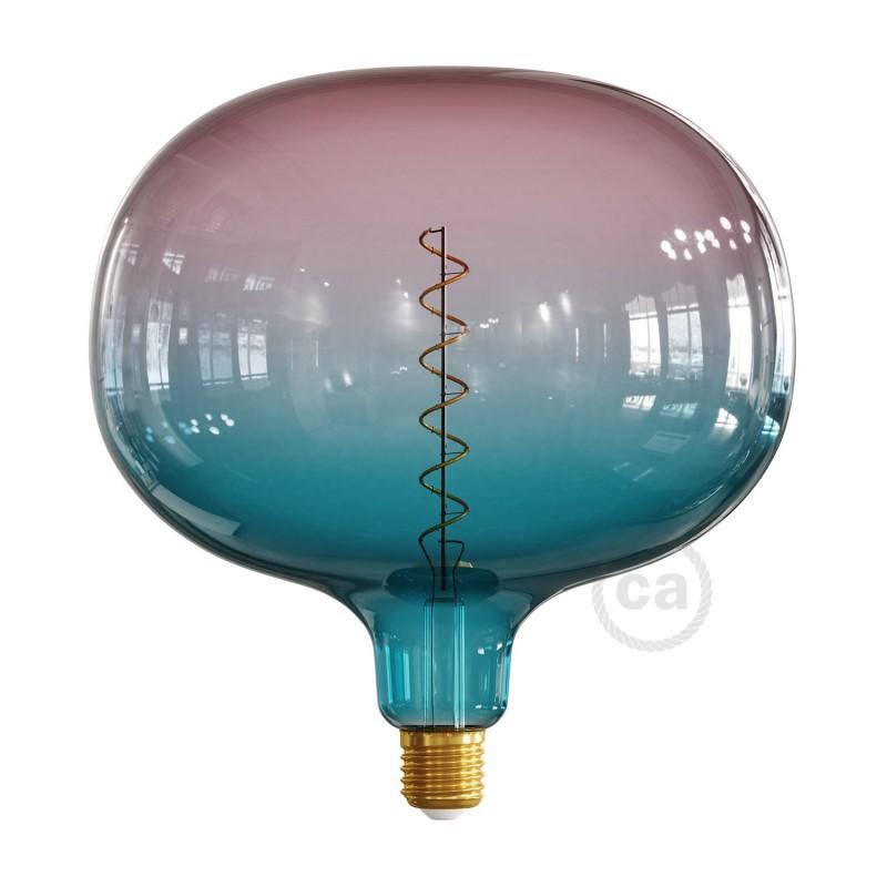 LED žárovka Cobble barevná kombinace sen (Dream), kolekce Pastel, spirálové vlákno 4W E27 Stmívatelná 2200K