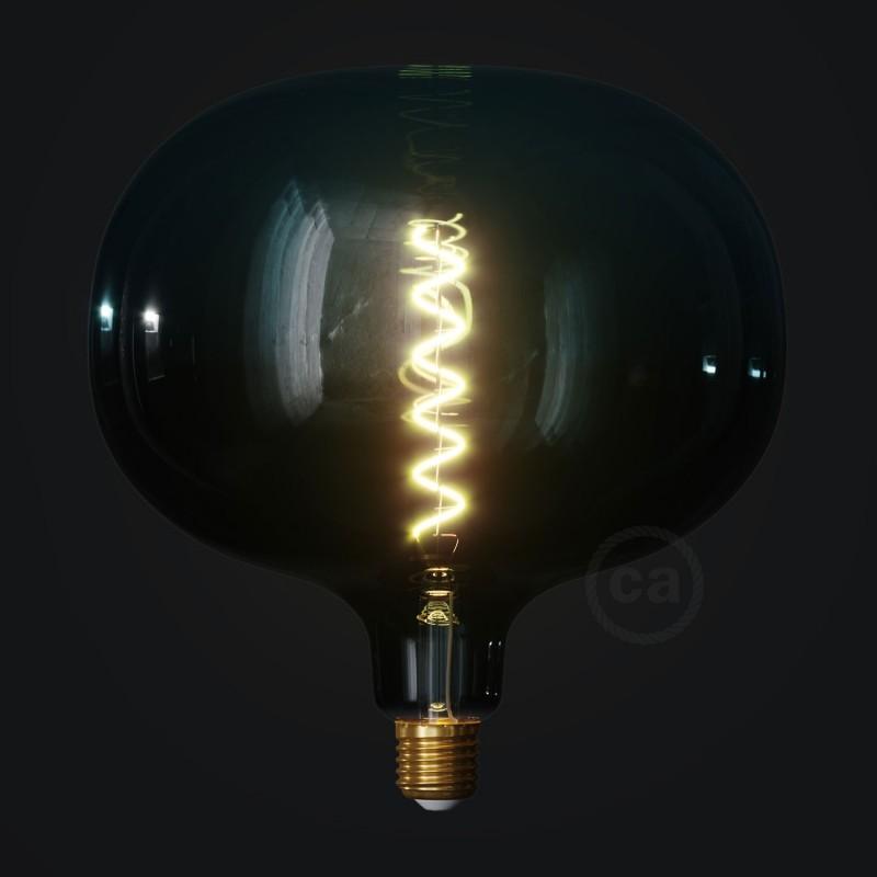 LED žárovka Cobble barevná kombinace soumrak (Dusk), kolekce Pastel, spirálové vlákno 4W E27 Stmívatelná 2200K
