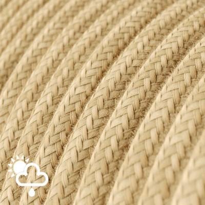 Exteriérový textilní elektrický kabel, jutový, SN06