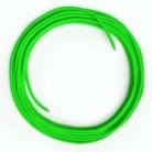 LAN - Síťový textilní kabel - Cat 5e - bez konektoru, umělý hedváb, RF06 neonově zelený