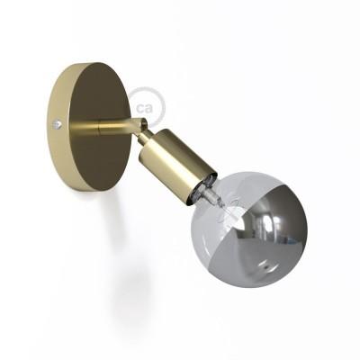 Fermaluce Metallo 90° Glam, nastavitelné kovové nástěnné bodové svítidlo