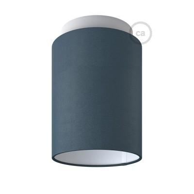Fermaluce Pastel s válcovým stínidlem, Ø 15cm v18cm, kovové nástěnné nebo stropní svítidlo