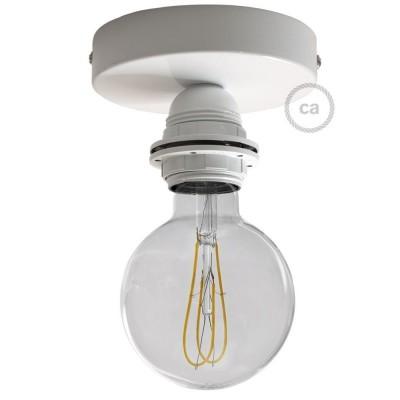 Fermaluce Monochrome s objímkou E27 se závitem, kovové nástěnné nebo stropní svítidlo