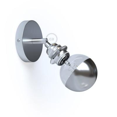 Fermaluce Metallo 90° Urban, nastavitelné kovové nástěnné nebo stropní svítidlo s objímkou E27 se závitem