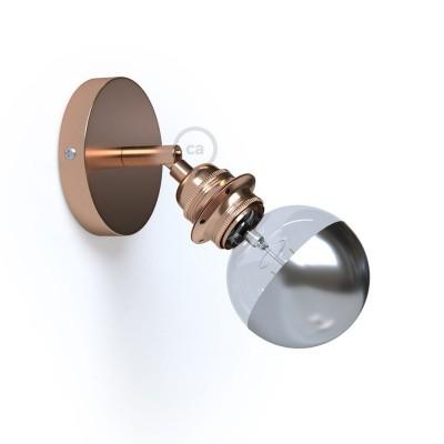 Fermaluce Metallo 90° Glam, nastavitelné kovové nástěnné nebo stropní svítidlo s objímkou E27 se závitem