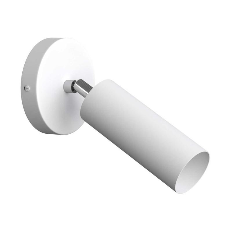 Fermaluce Monochrome nastavitelné kovové nástěnné bodové svítidlo se stínidlem Tub-E14