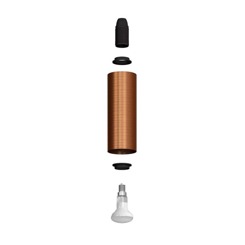 Fermaluce Vintage nastavitelné kovové nástěnné bodové svítidlo se stínidlem Tub-E14