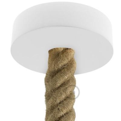 Dřevěný stropní baldachýn pro 3XL lanový kabel