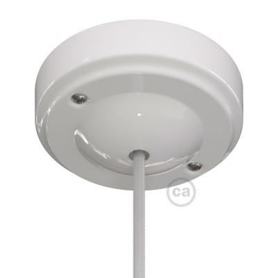 """Porcelánový """"minimalistický"""" stropní baldachýn"""