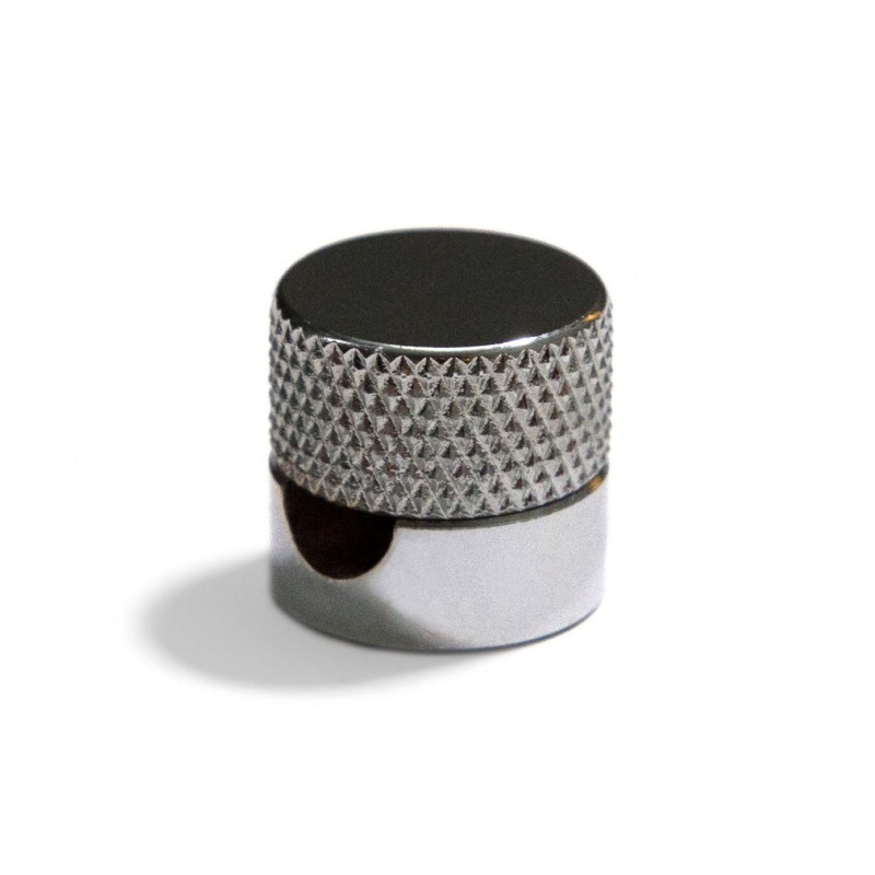 Sarè - Kovová nástěnná kabelová svorka pro textilní elektrické kabely - chrom