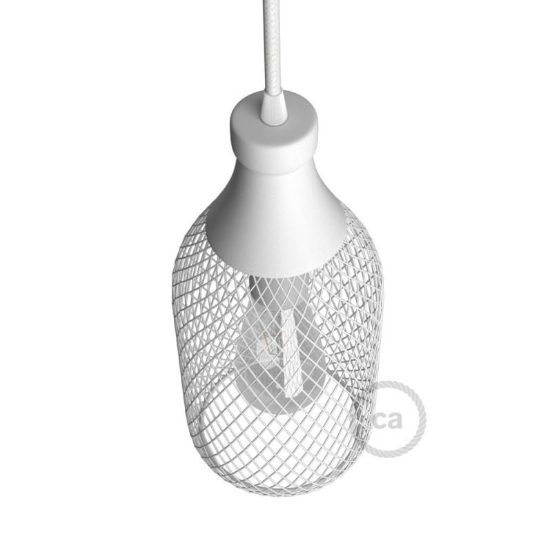 Kovový stínidlový rám ve tvaru lahve Jéroboam