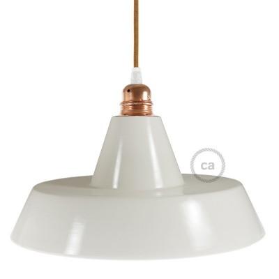 Industriální keramické stínidlo pro závěsné lampy - Vyrobené v Itálii