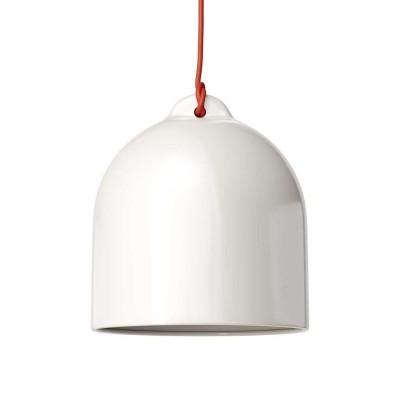 Keramické stínidlo Zvon M pro závěsné lampy - Vyrobené v Itálii