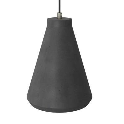 Betonové Stínidlo Funnel pro závěsné lampy s kabelovou svorkou a objímkou E27