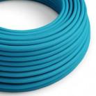 Hedvábný textilní elektrický kabel, RM11 Tyrkysový