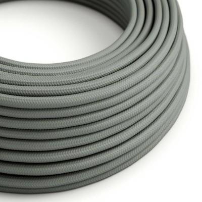 Hedvábný textilní elektrický kabel, RM03 Šedý