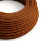 Bavlněný textilní elektrický kabel, RC23 barvy jelena