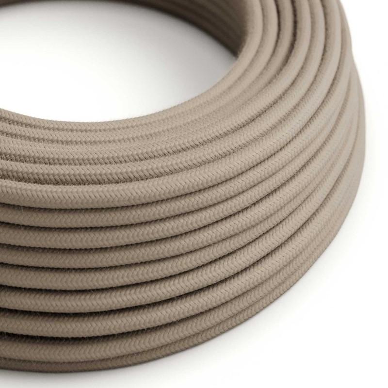 Bavlněný textilní elektrický kabel, RC43 barvy holubice