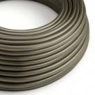 Hedvábný textilní elektrický kabel, RM26 Tmavě šedý