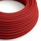 """Hedvábný textilní elektrický kabel, RT94 """"Red devil"""""""